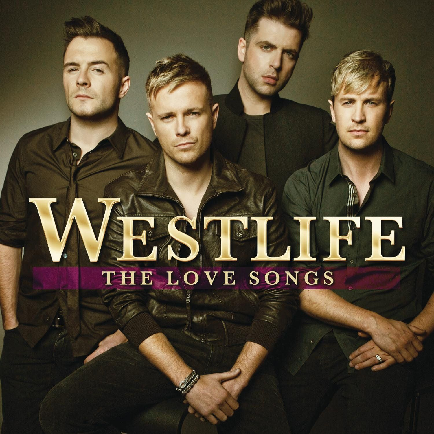 Westlife - The Love Songs album cover