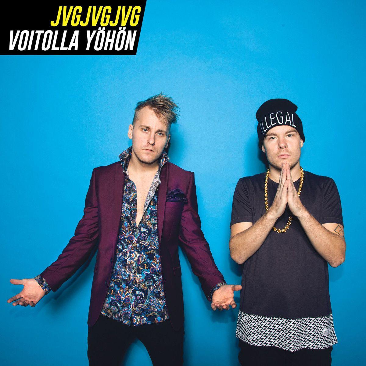 Jvg - Voitolla Yöhön album cover