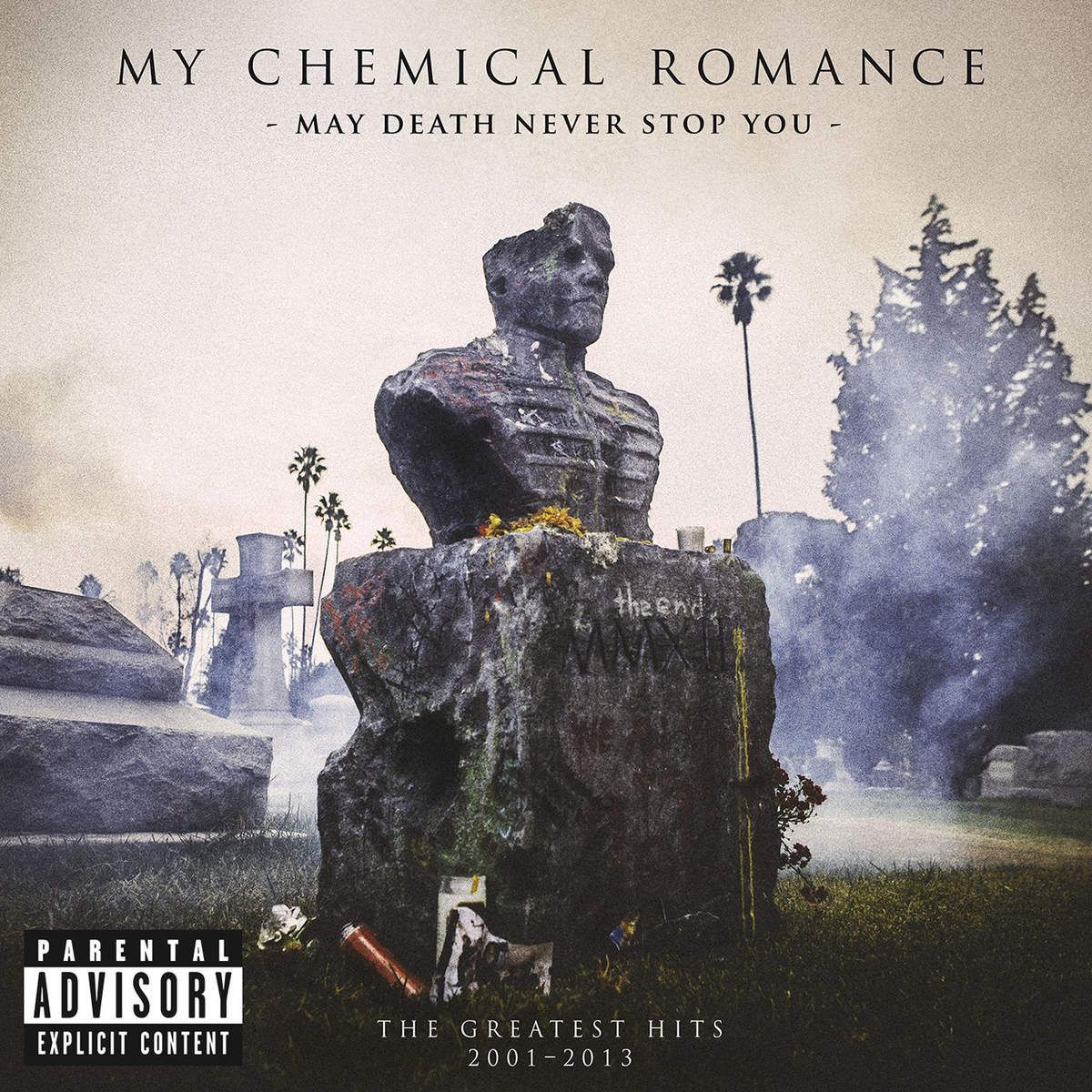 My Chemical Romance - May Death Never Stop You album cover