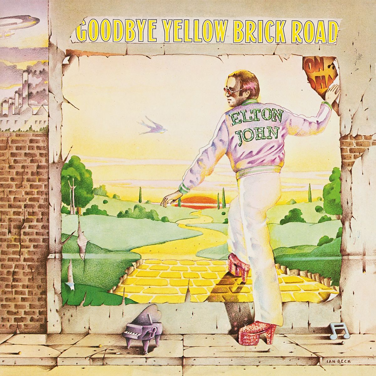 Elton John - Goodbye Yellow Brick Road album cover