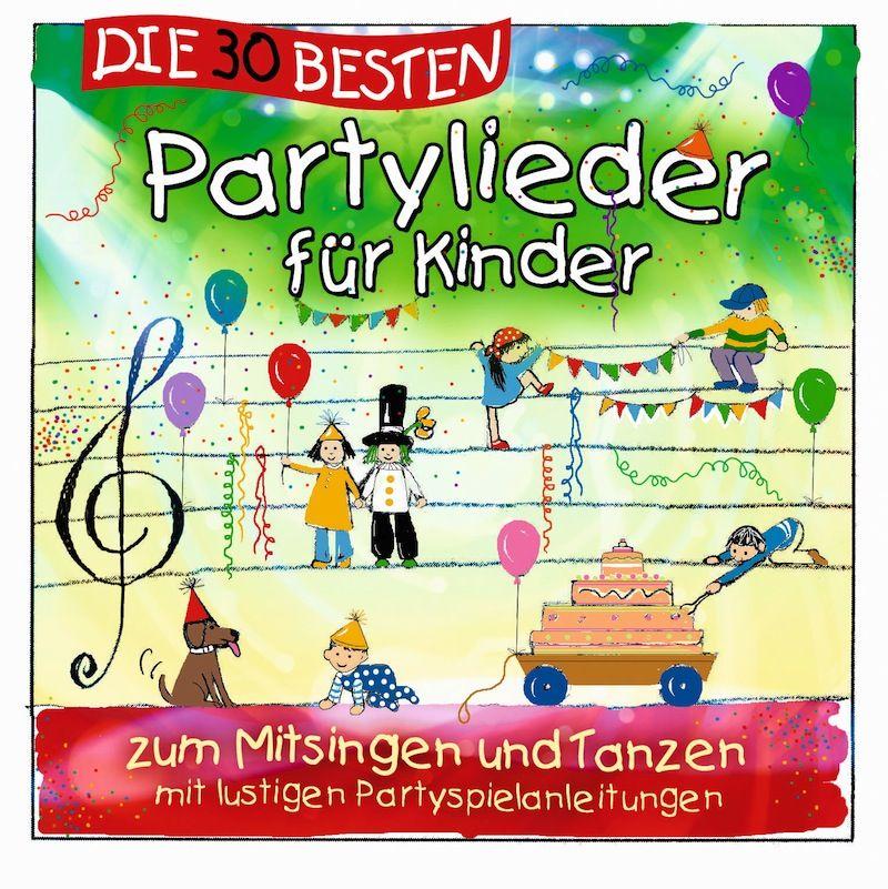 Simone Sommerland - Die 30 Besten Partylieder Für Kinder Zum Mitsingen Und Tanzen album cover