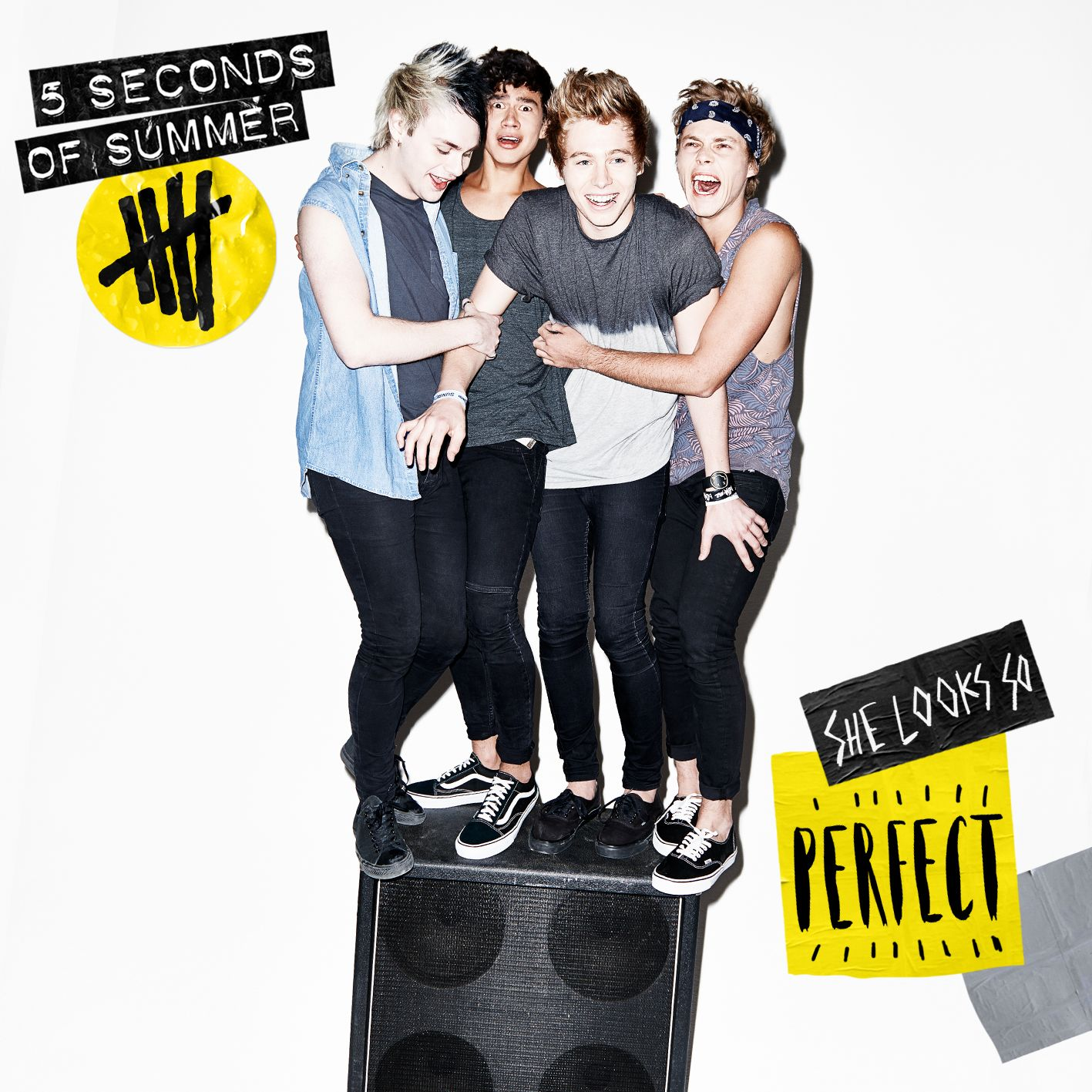 5 Seconds Of Summer - She Looks So Perfect (ep) album cover