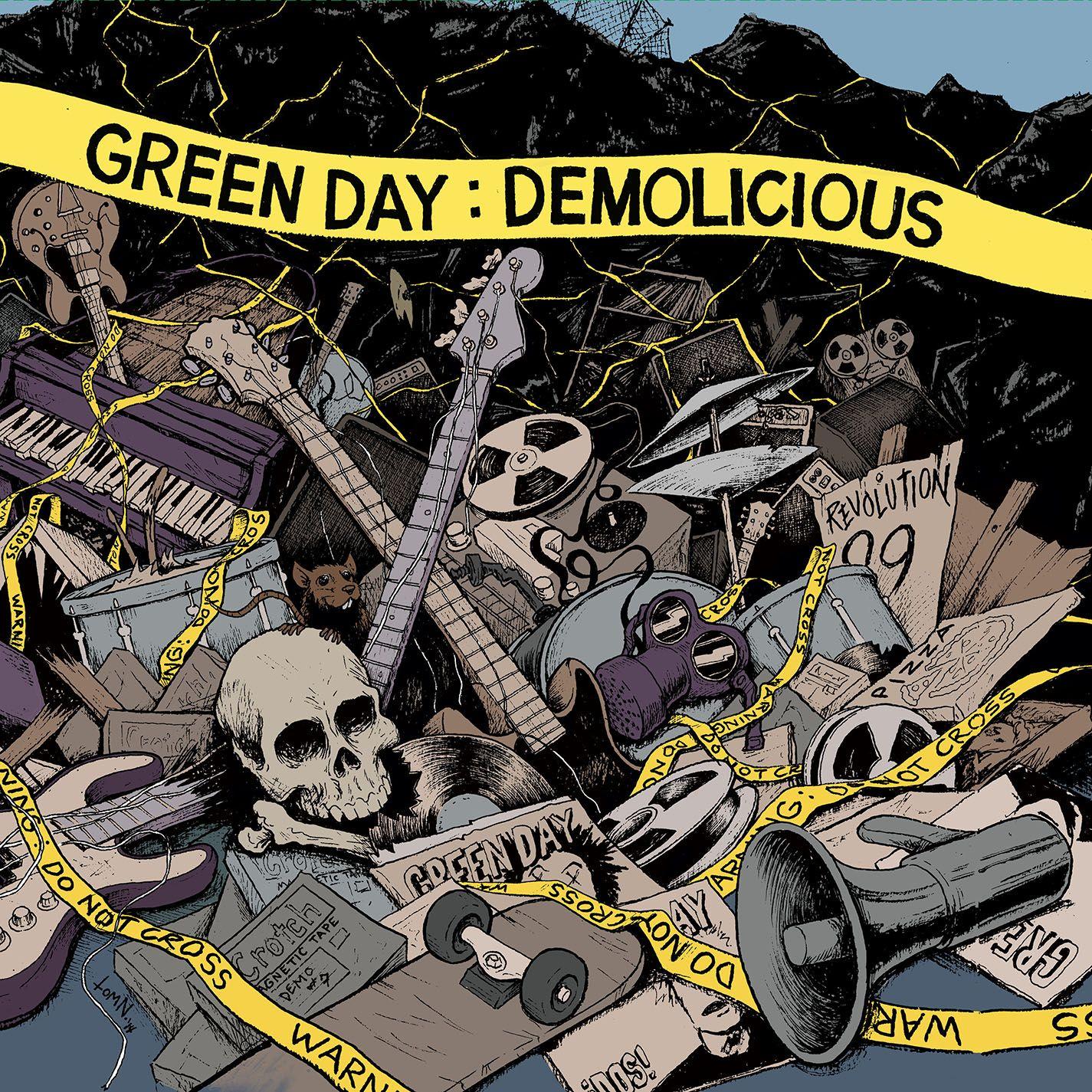 Green Day - Demolicious album cover