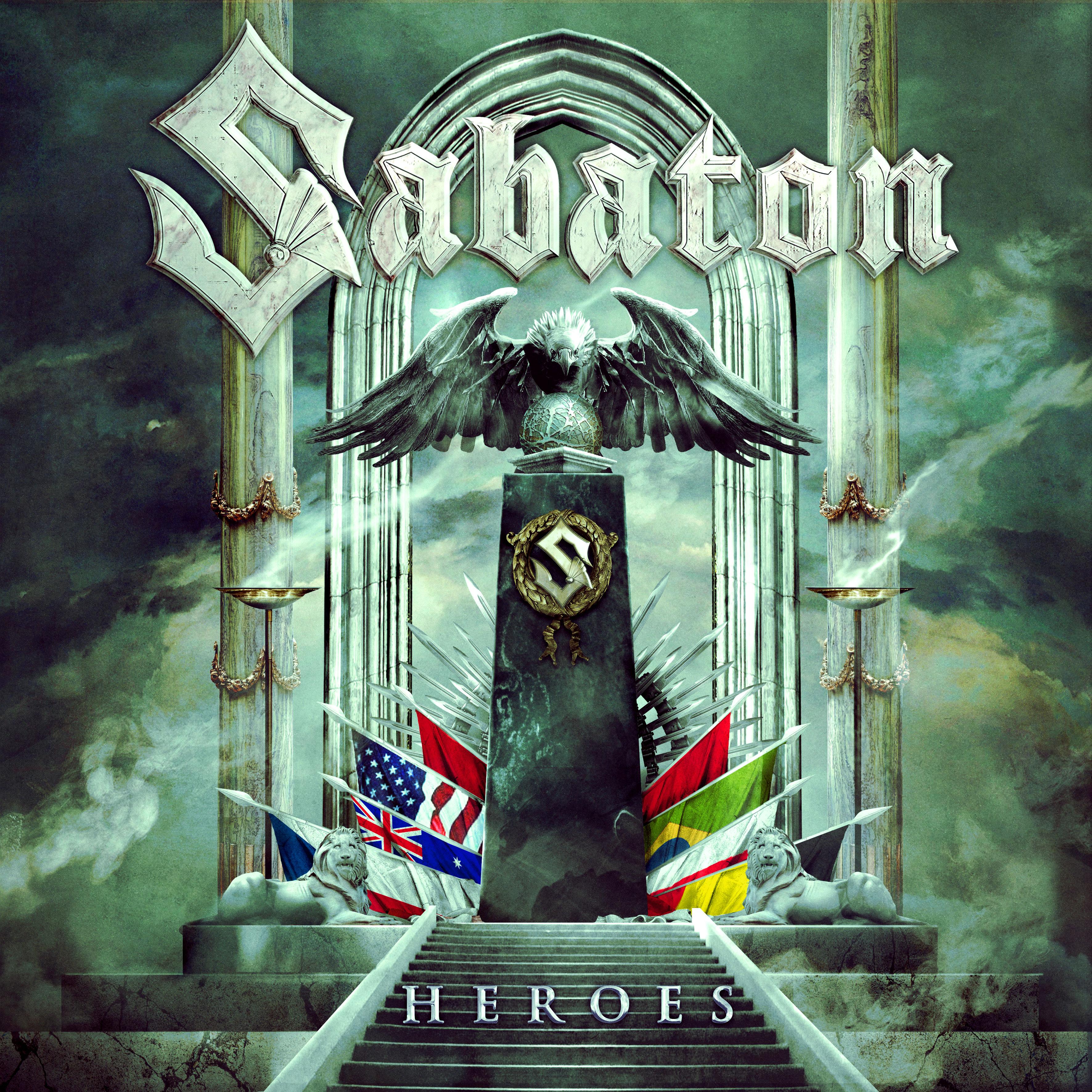 Sabaton - Heroes album cover
