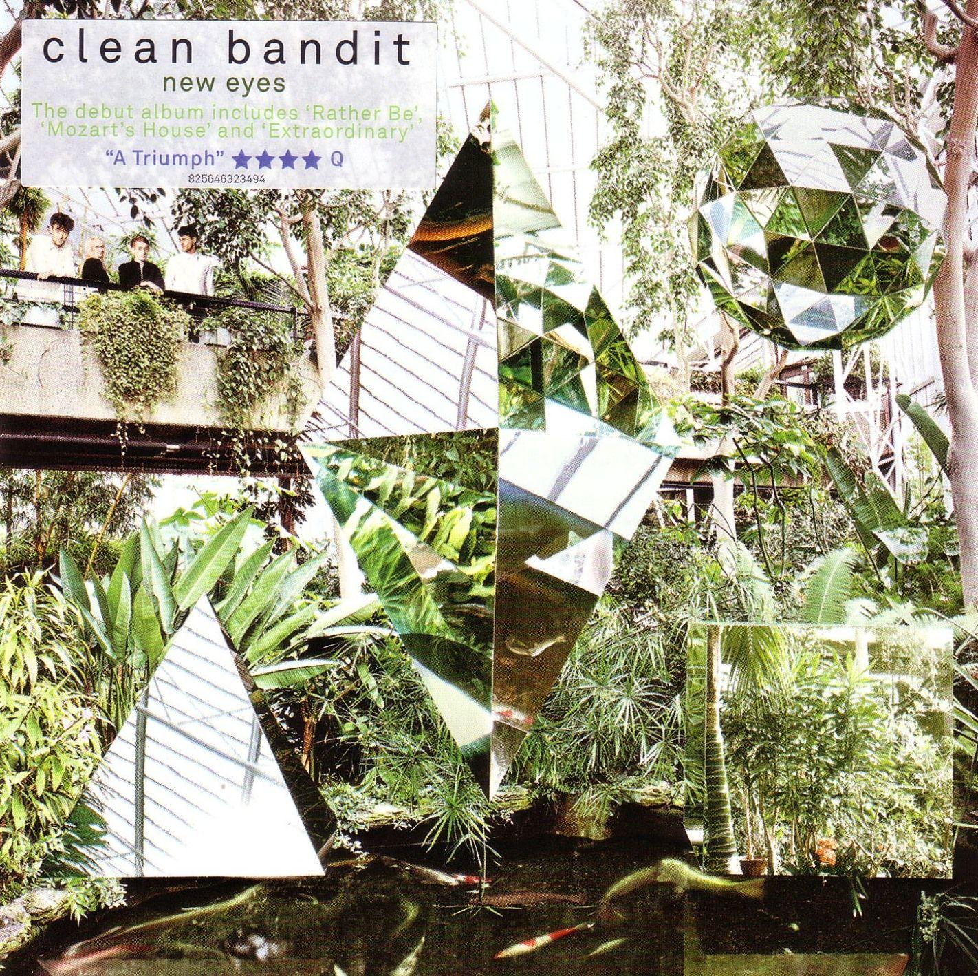 Clean Bandit - New Eyes album cover