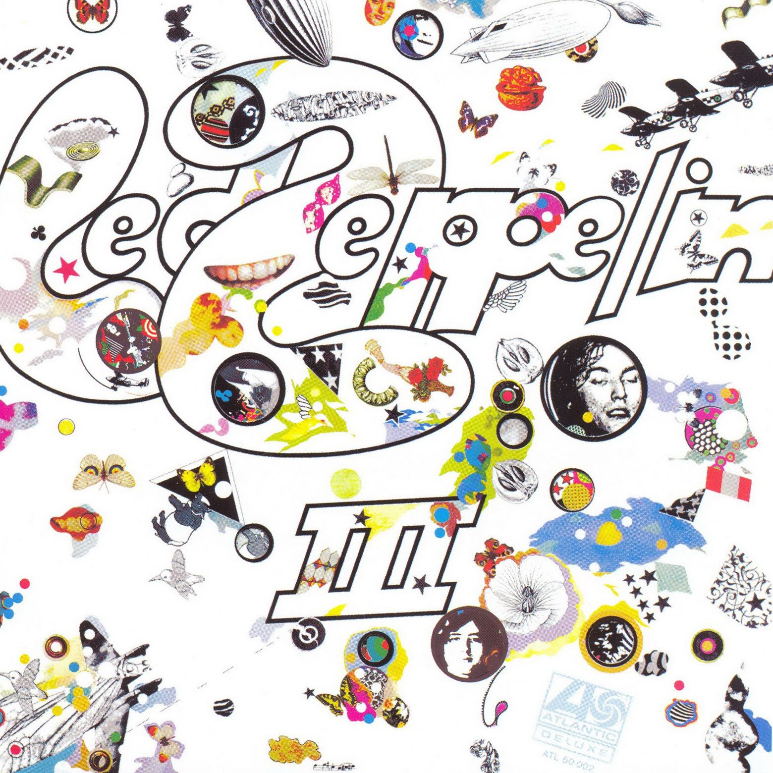 Led Zeppelin - Led Zeppelin 3 (remastered) album cover