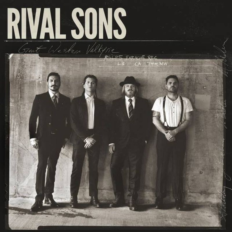 Rival Sons - Great Western Valkyrie album cover