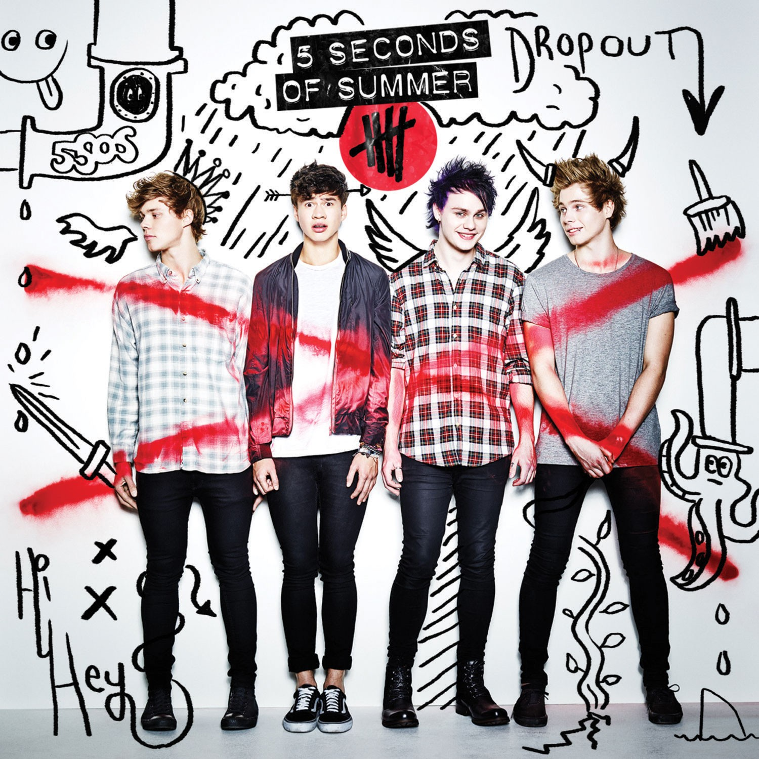 5 Seconds Of Summer - 5 Seconds Of Summer album cover