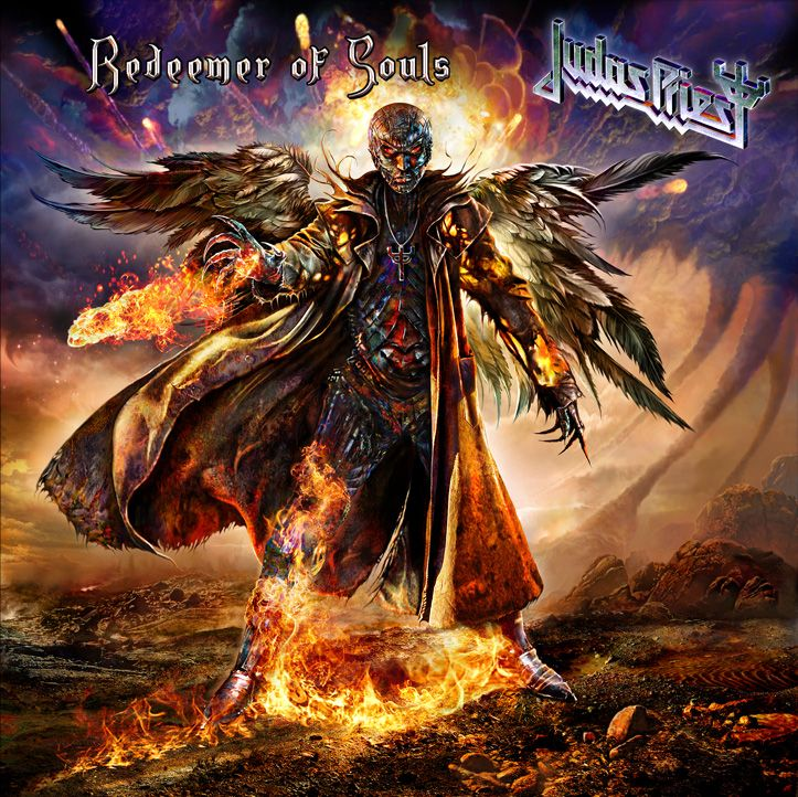 Judas Priest - Redeemer Of Souls album cover