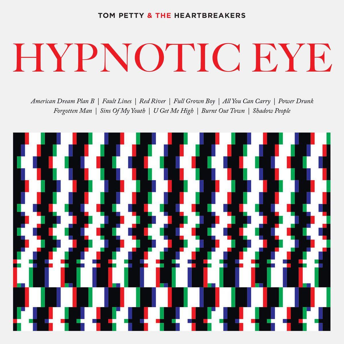 Tom Petty - Hypnotic Eye album cover