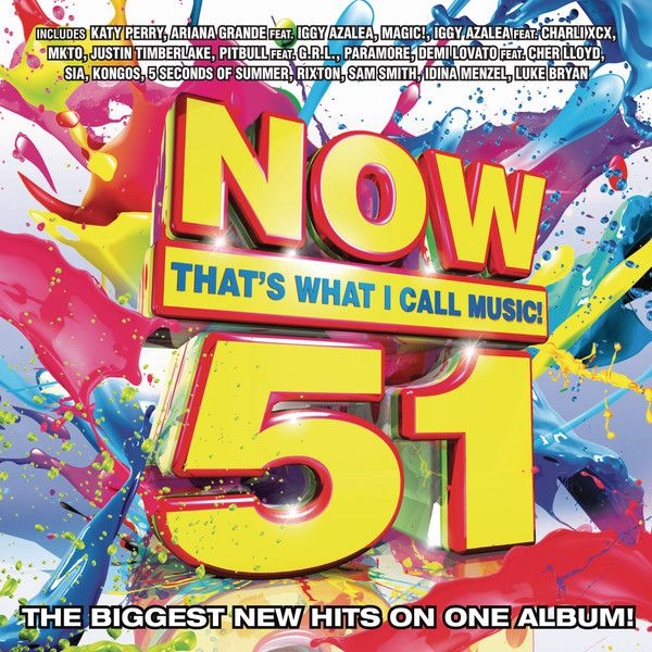 Various Artists - Now 51 album cover