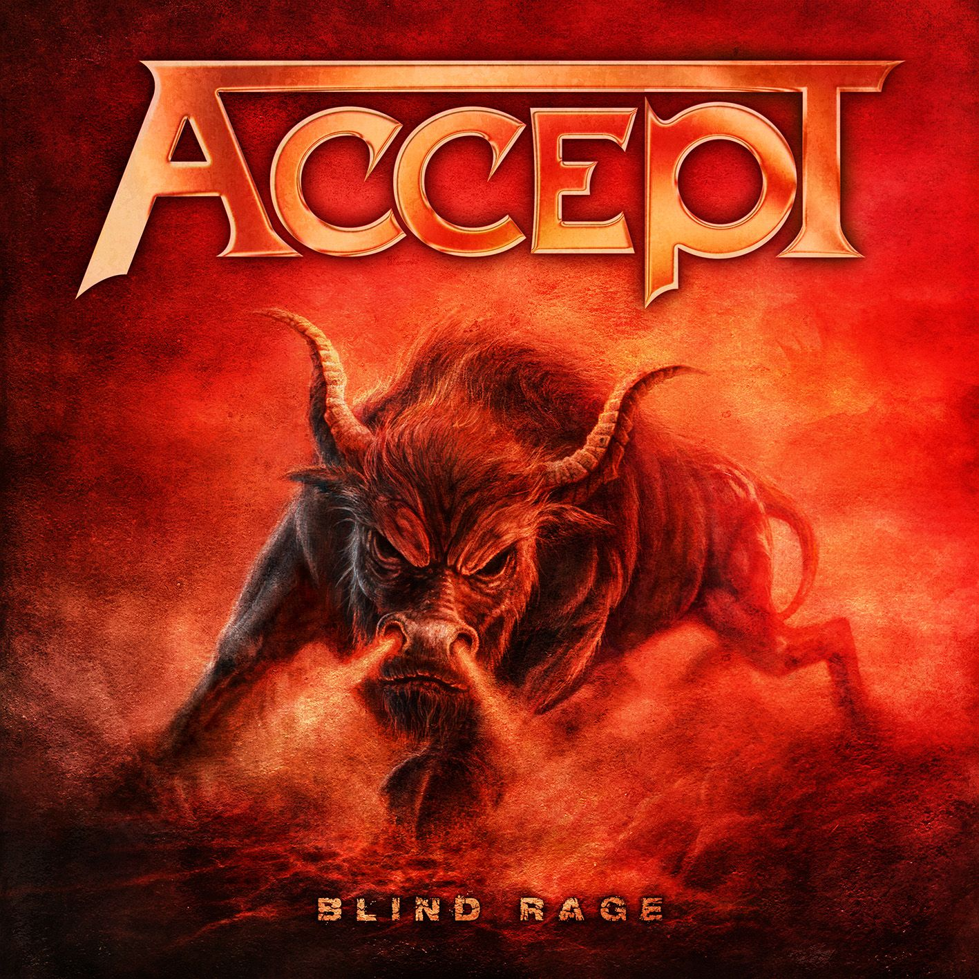 Accept - Blind Rage album cover