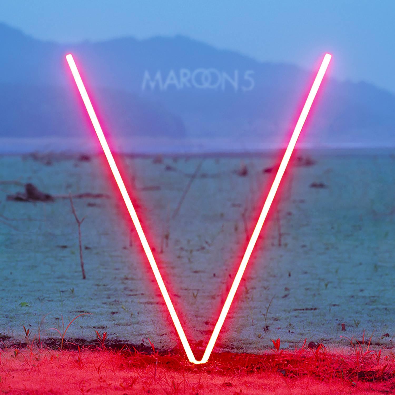 Maroon 5 - V album cover