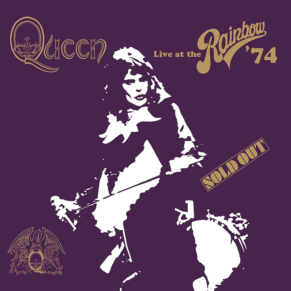 Queen - Live At The Rainbow '74 album cover
