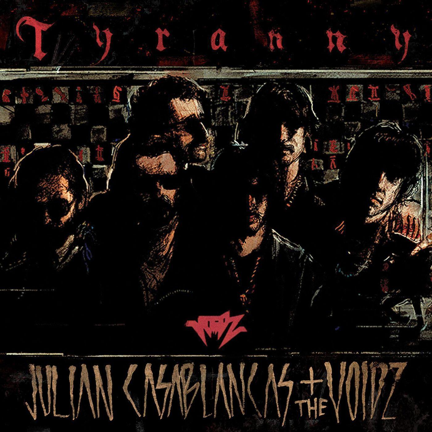 Julian Casablancas + The Voidz - Tyranny album cover