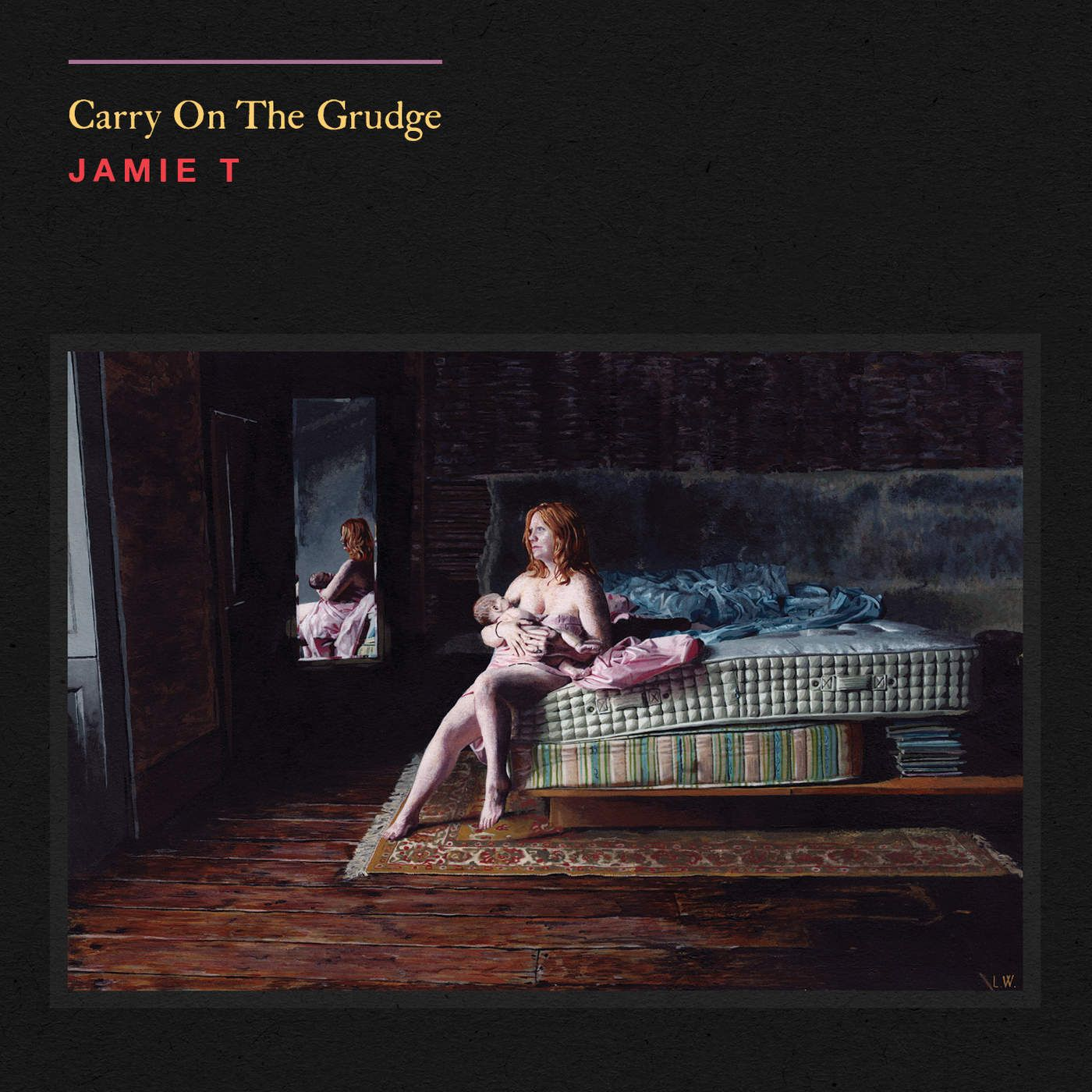 Jamie T - Carry On The Grudge album cover