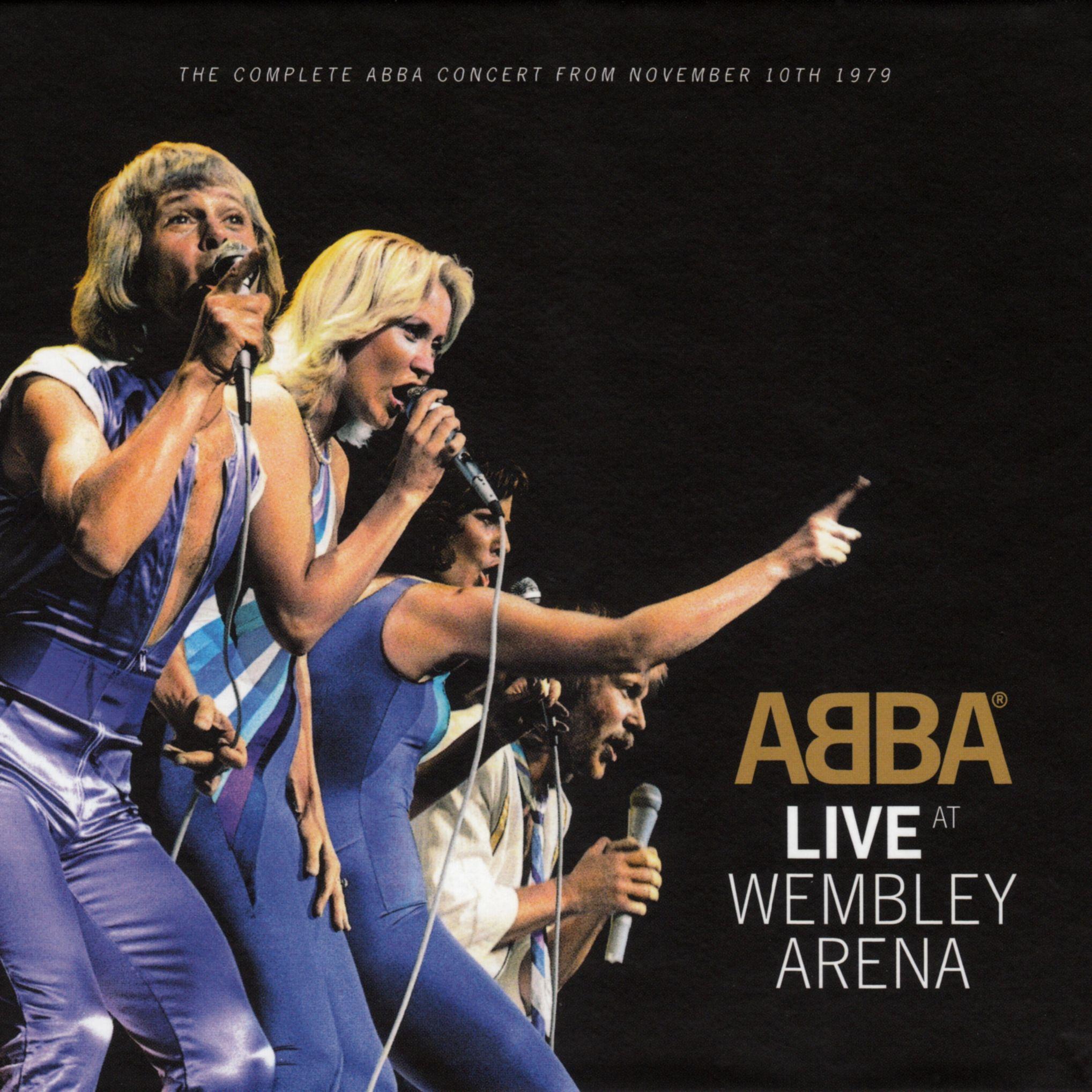 ABBA - Live At Wembley Arena album cover