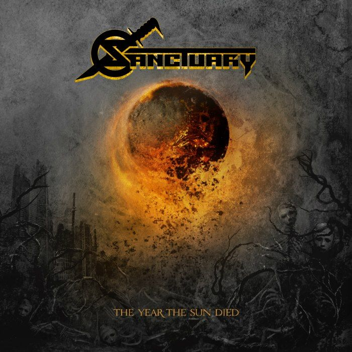 Sanctuary - The Year The Sun Died album cover