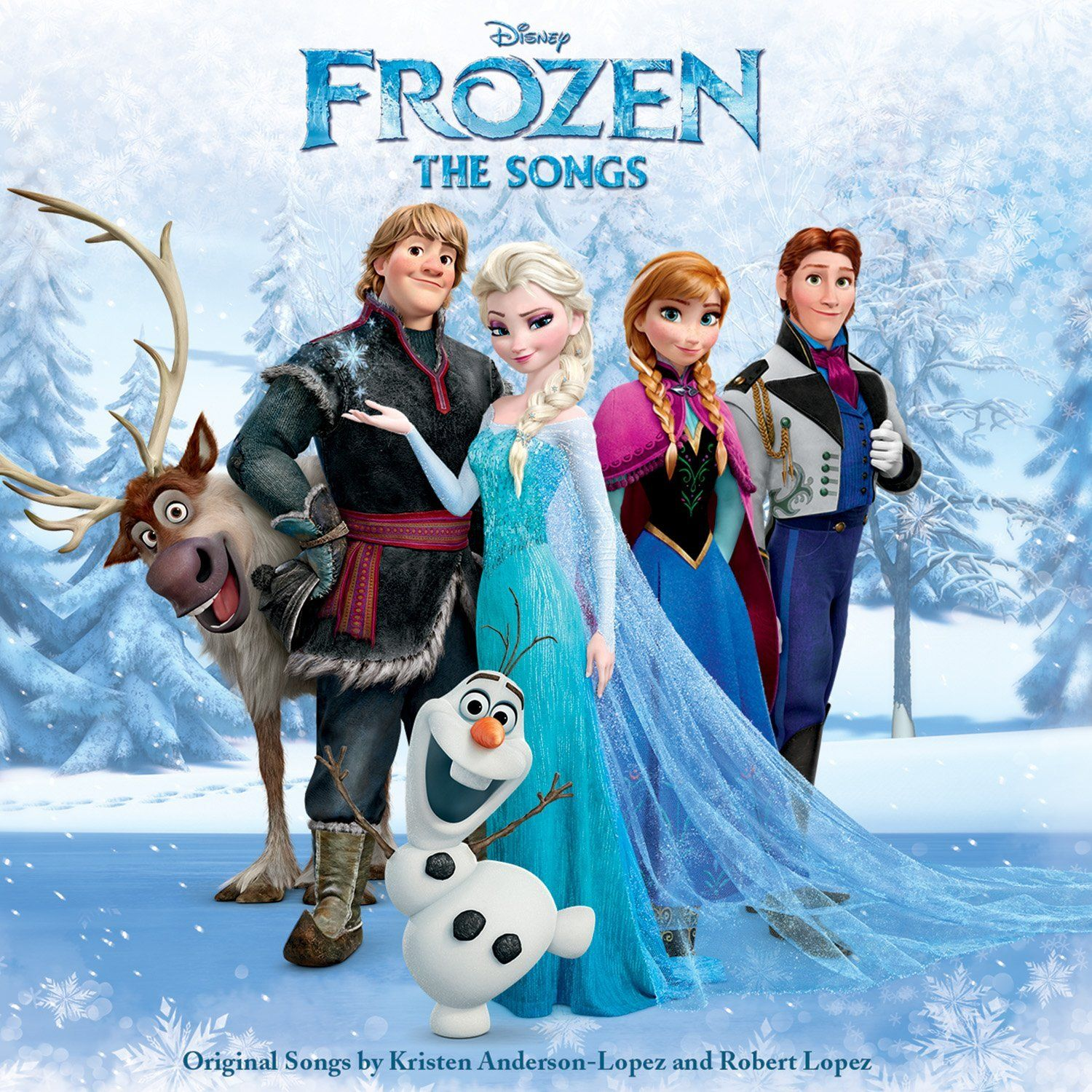Soundtrack - Frozen: The Songs album cover