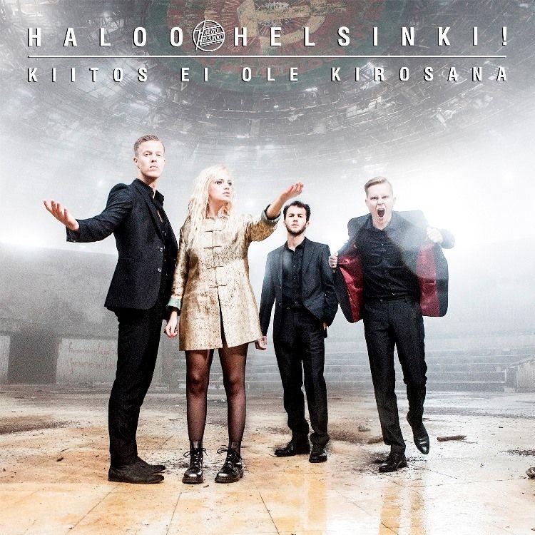 Haloo Helsinki! - Kiitos Ei Ole Kirosana album cover