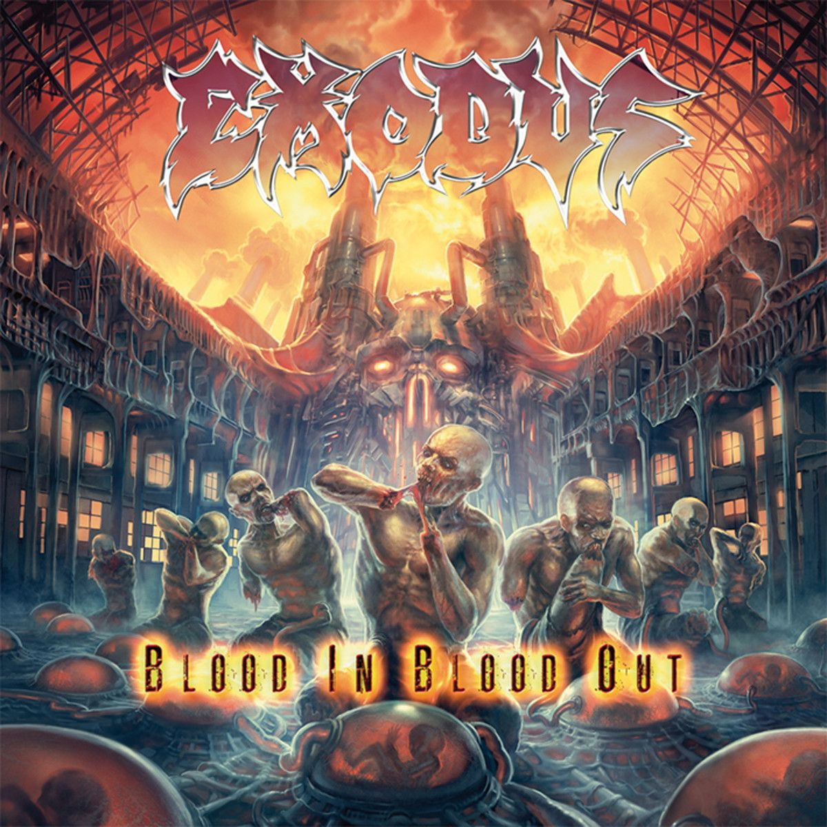 Exodus - Blood In Blood Out album cover