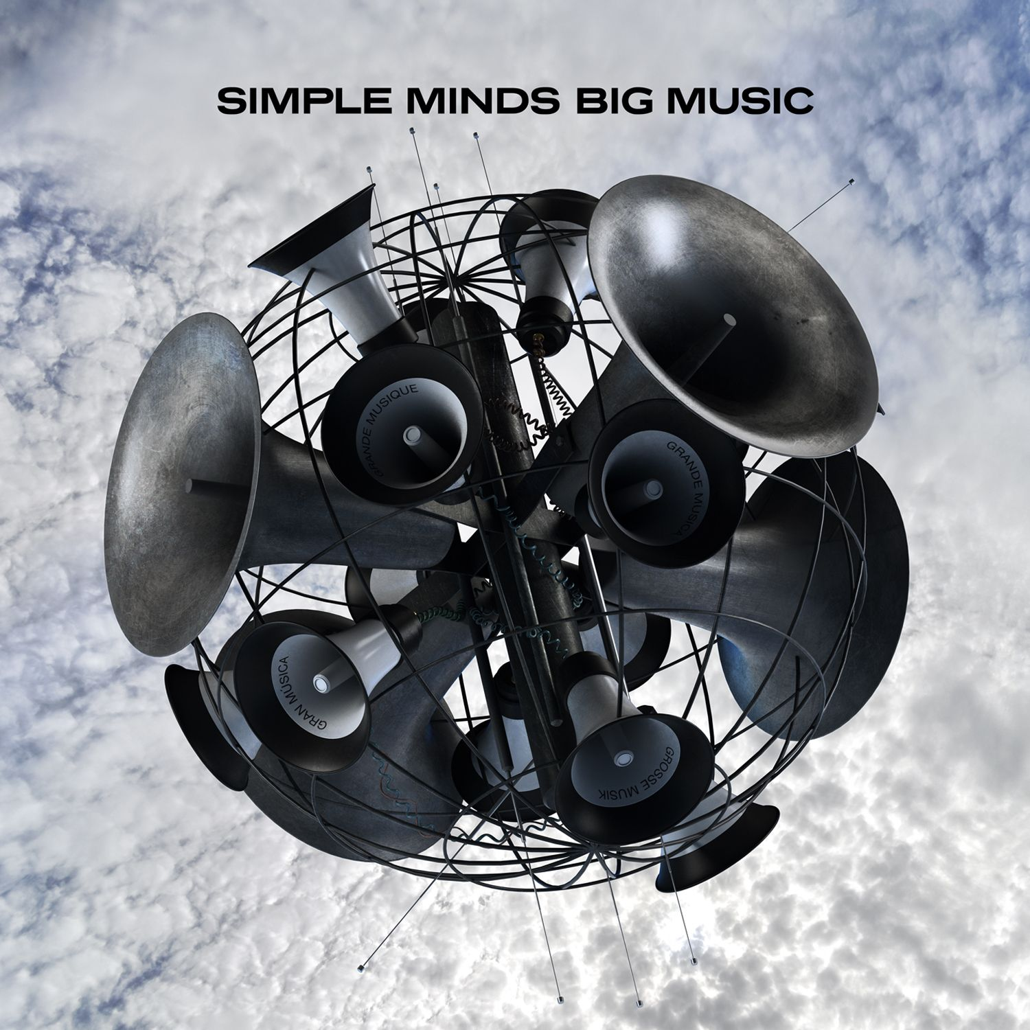 Simple Minds - Big Music album cover