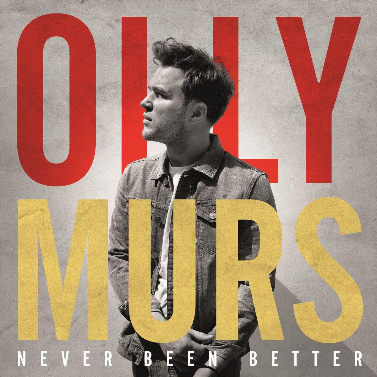 Olly Murs - Never Been Better album cover