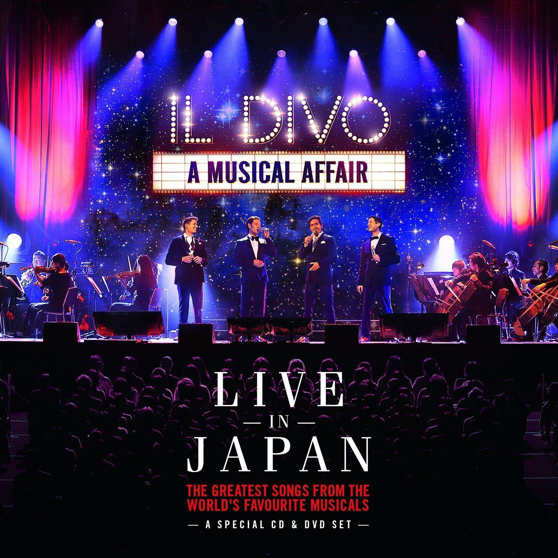 Il Divo - A Musical Affair - Live In Japan album cover