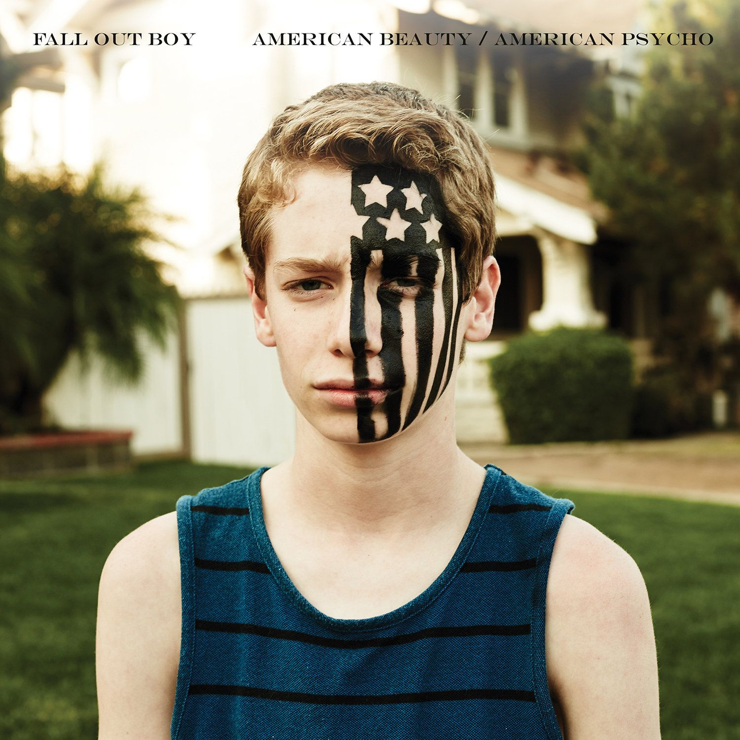 Fall Out Boy - American Beauty / American Psycho album cover