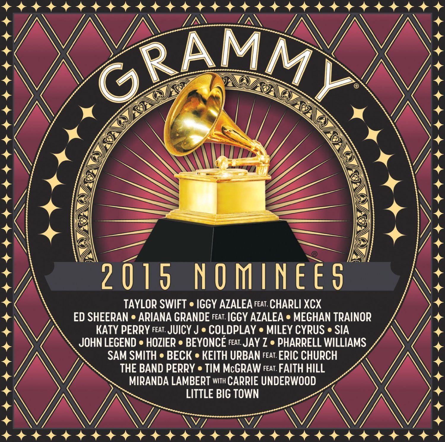 Various Artists - 2015 Grammy Nominees album cover