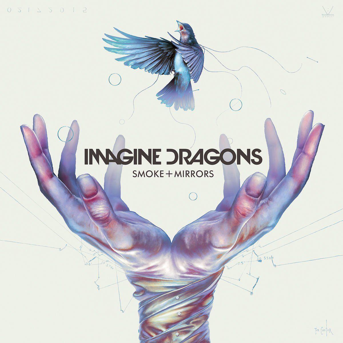 Imagine Dragons - Smoke + Mirrors album cover