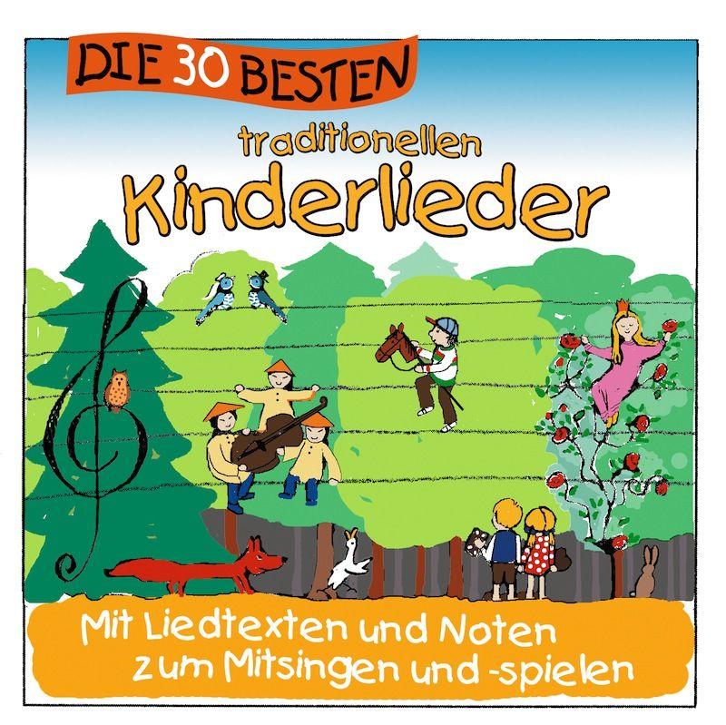 Simone Sommerland - Die 30 Besten Traditionellen Kinderlieder album cover