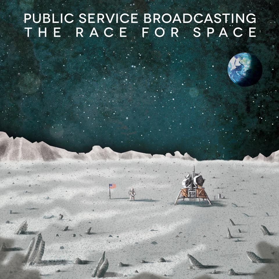 Public Service Broadcasting - The Race For Space album cover