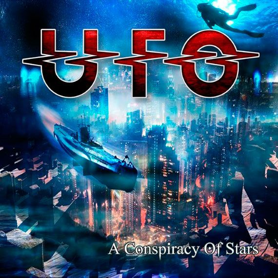 Ufo - A Conspiracy Of Stars album cover