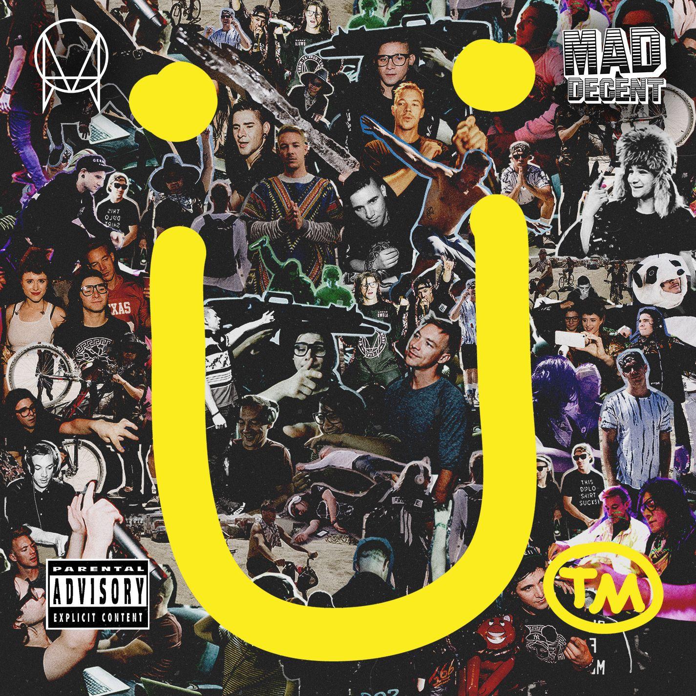 Skrillex - Skrillex & Diplo Present Jack U album cover