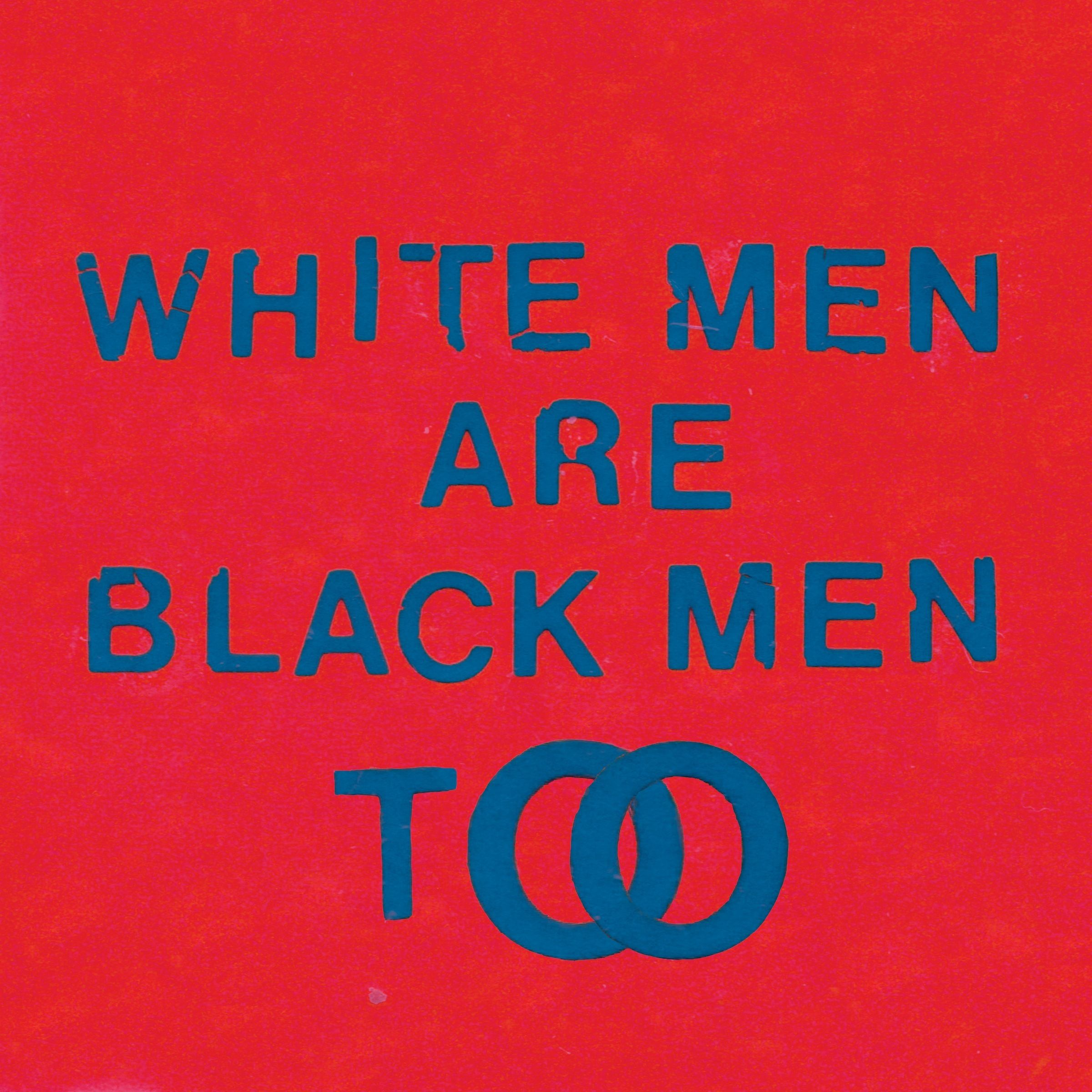 Young Fathers - White Men Are Black Men Too album cover