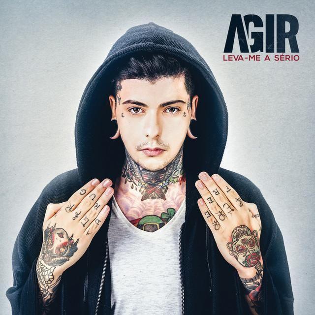 Agir - Leva-me A Sério album cover