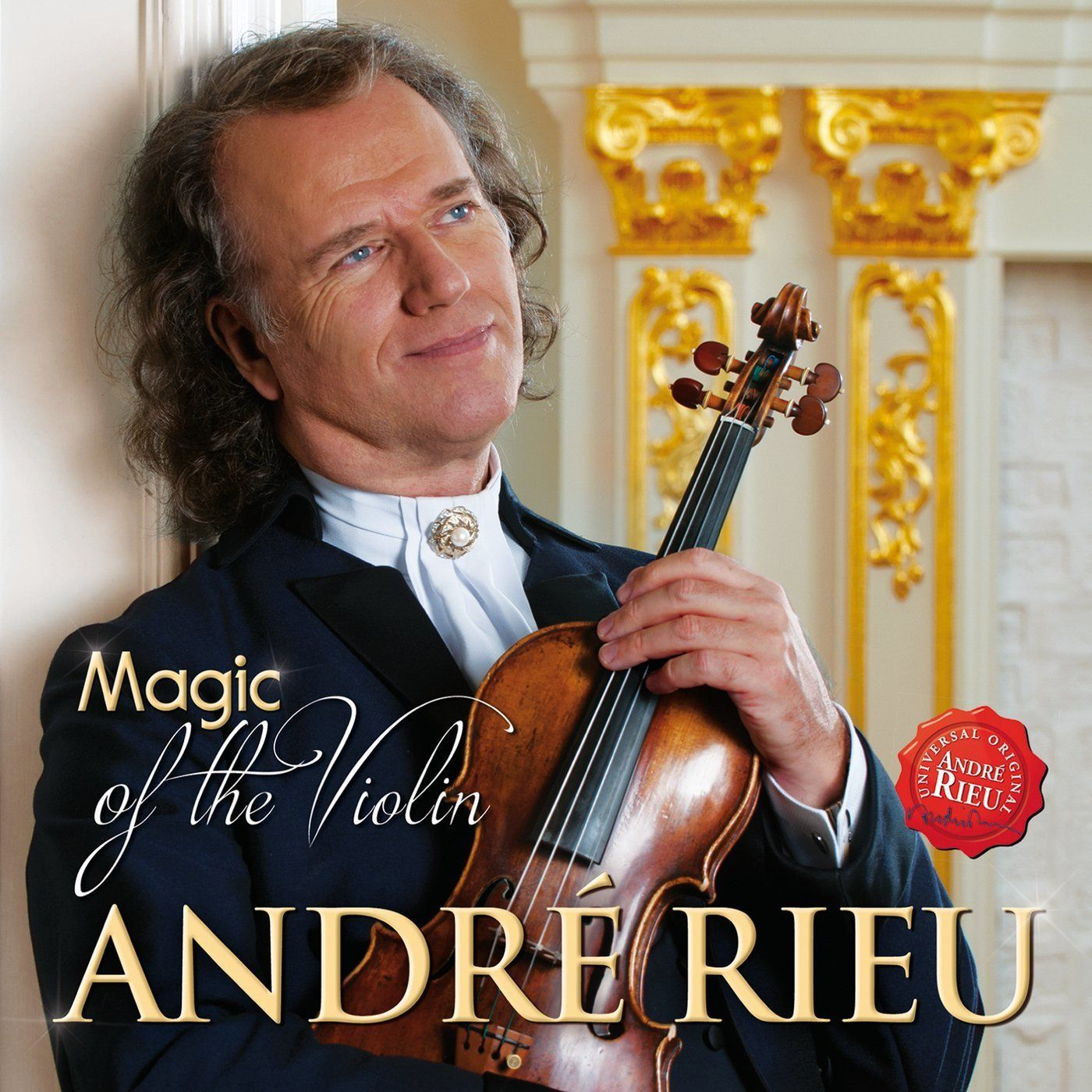 Andre Rieu & The Johann Strauss Orchestra - Magic Of The Violin album cover