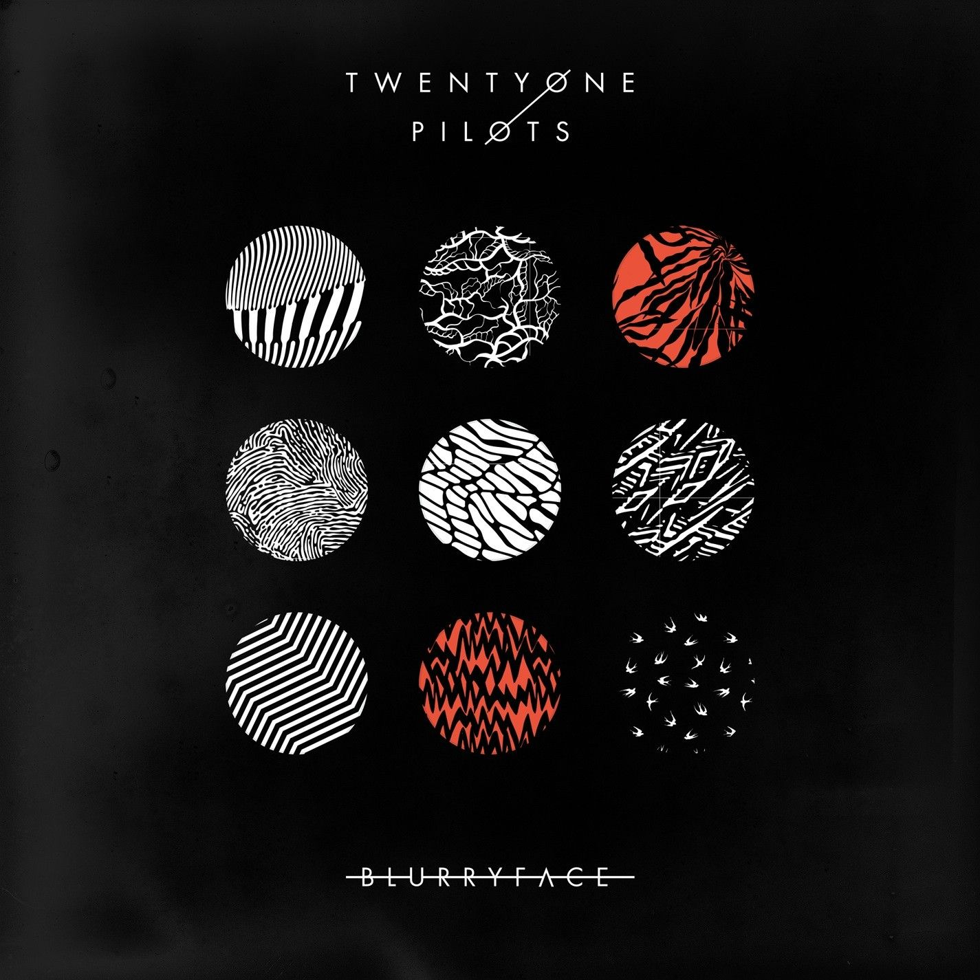 Twenty One Pilots - Blurryface album cover