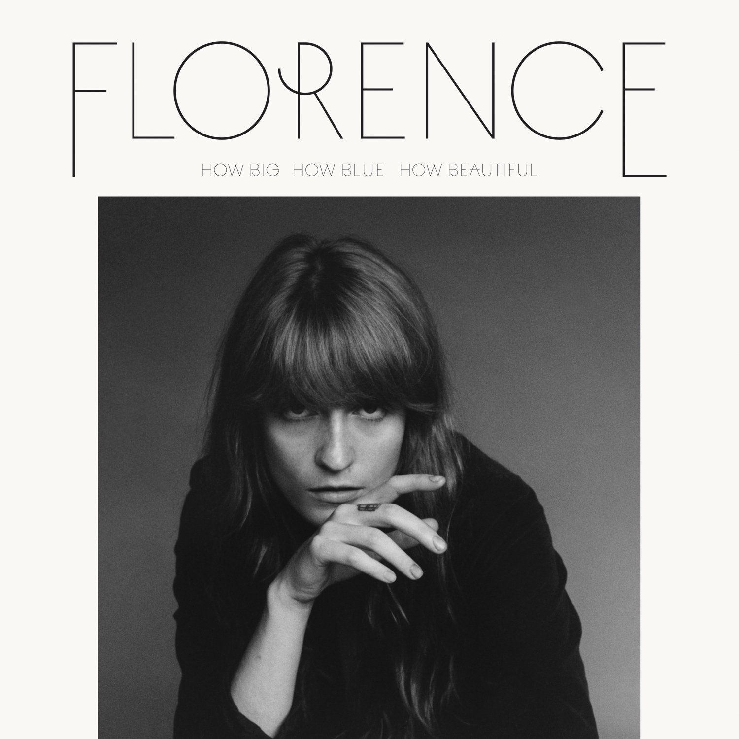 Florence + The Machine - How Big, How Blue, How Beautiful album cover