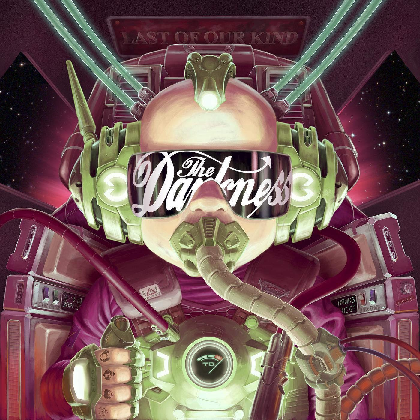 The Darkness - Last Of Our Kind album cover