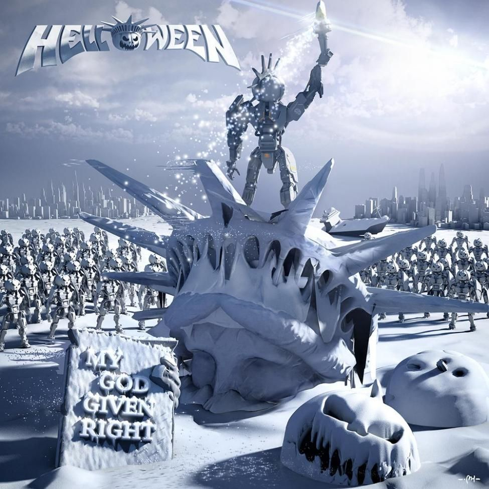 Helloween - My God-Given Right album cover