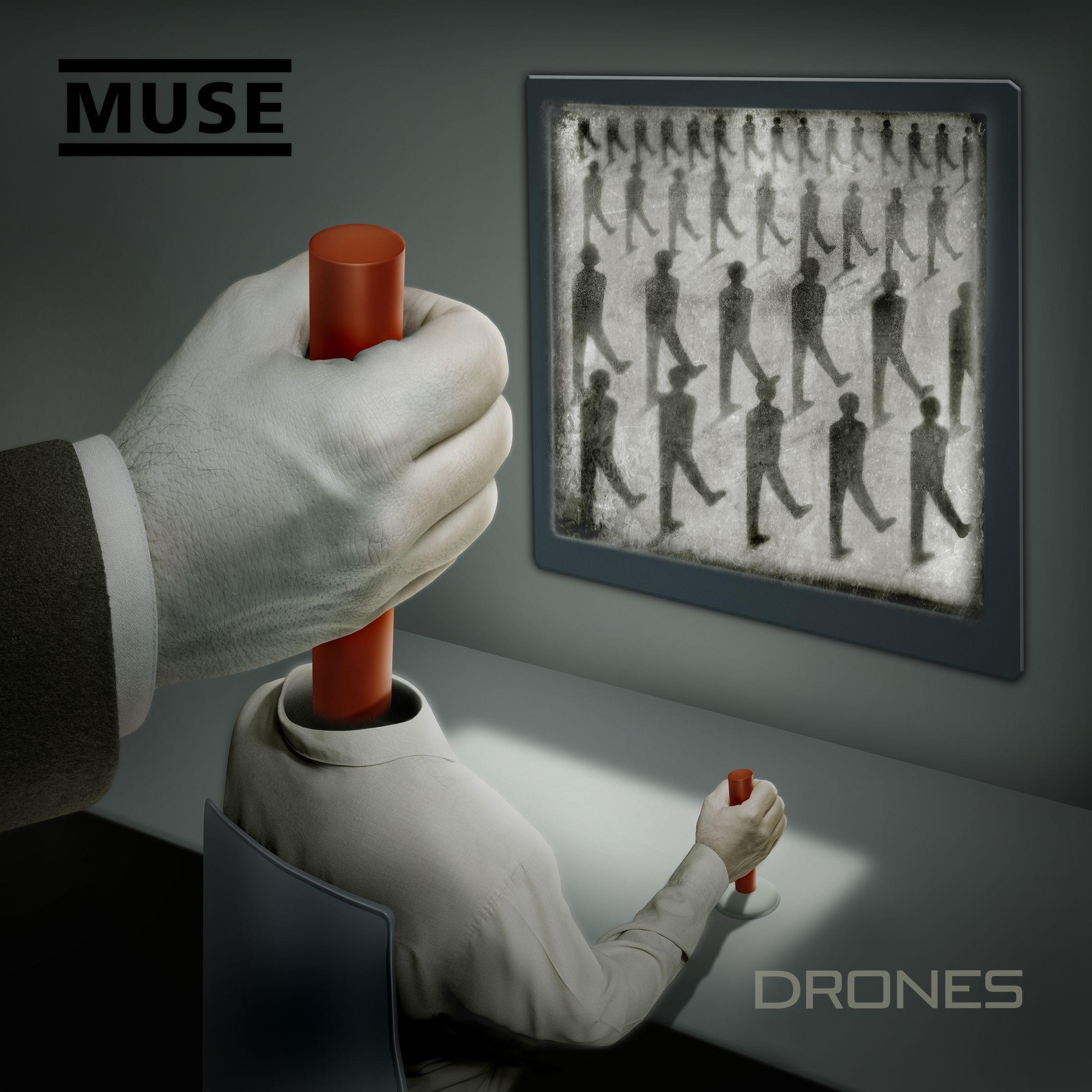 Muse - Drones album cover