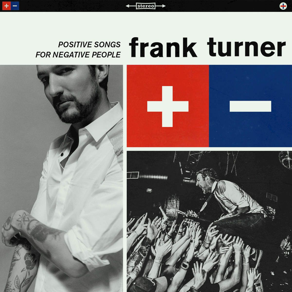 Frank Turner - Positive Songs For Negative People album cover
