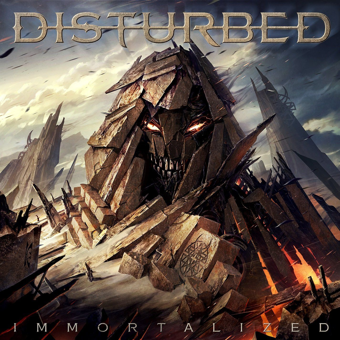 Disturbed - Immortalized album cover