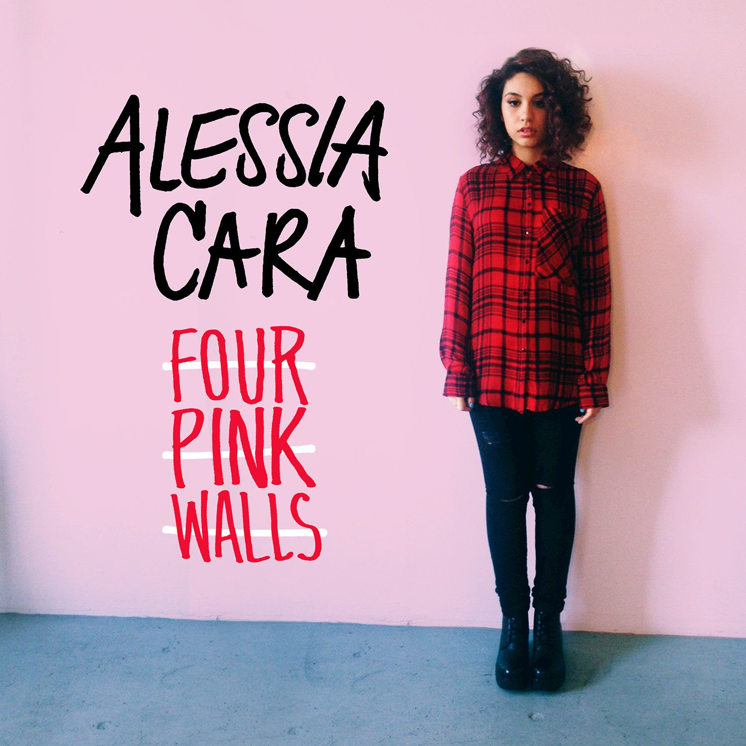 Alessia Cara - Four Pink Walls (ep) album cover