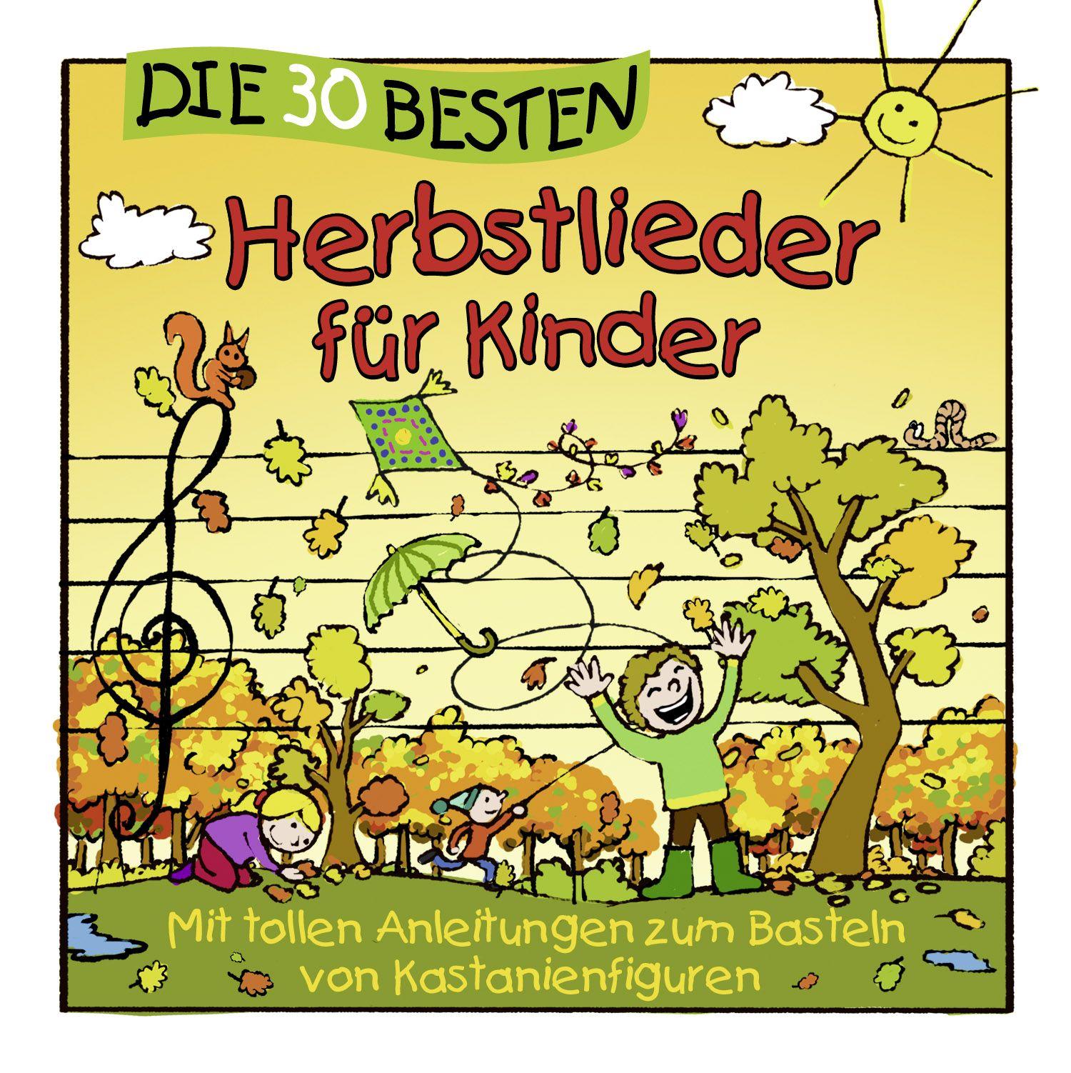 Simone Sommerland - Die 30 Besten Herbstlieder Für Kinder album cover