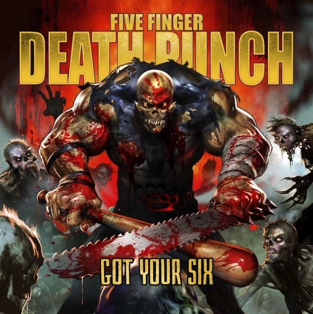 Five Finger Death Punch - Got Your Six album cover
