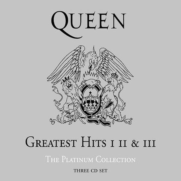 Queen - Greatest Hits I Ii & Iii: The Platinum Collection album cover