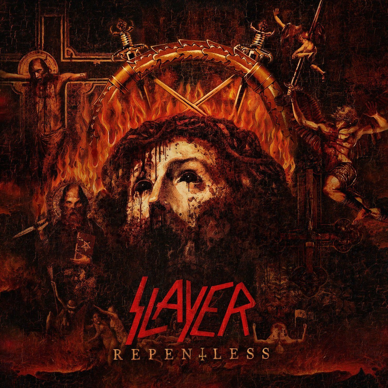Slayer - Repentless album cover